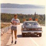 #TerryFox, who inspired millions worldwide, was born #OTD 1958 in #Winnipeg https://t.co/h8h46MrEQo #MarathonOfHope https://t.co/tGnFp3l5jJ