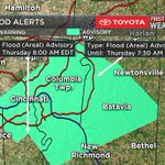 Update: Flash Flood Warning for Clermont, Hamilton, Campbell, Kenton counties until 8:15 am https://t.co/2klHicWXUQ https://t.co/4Jn6SQKtaa