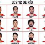 Tres baleares @rudy5fernandez @23Llull y @alexabrines en la selección española olímpica q va a Río. Poder balear. 👏👏 https://t.co/Ah9gIm1Adr