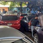 Varios vehículos incautados en talleres de Sonsonate. Son propiedad de un testaferro de la MS. #EnDesarrollo https://t.co/thuUQBtsdO