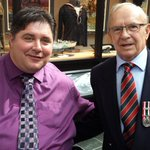 """77 year-old Veteran Bill Henry: """"I am so happy to see this happening, it is not even funny."""" #PEI @CBCPEI https://t.co/cy1QhKuoEE"""