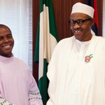 Buhari praises Father Mbaka, lauds catholic priest's steadfastness https://t.co/jUE6d44Lz6 https://t.co/a9qXjvj6SN