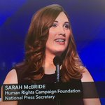 """""""My name is Sarah McBride, and I am a proud transgender American."""" #DemsInPhilly https://t.co/UKLCUsyulf"""