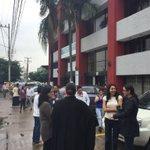 Ante #sismo se desalojó edificio de SEMADET. Mantente informado a través de @PCJalisco https://t.co/Hf630vui0d