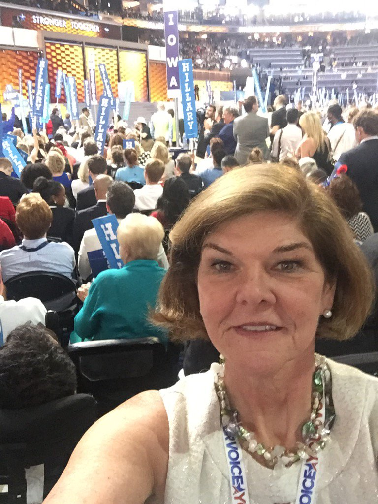 Leaving the convention floor for last time. Thank you #ABCRadioNews https://t.co/afhPHtShOA