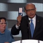 """Father of slain American Muslim soldier asks if Trump has read the Constitution: """"I will gladly lend you my copy."""" https://t.co/FfZtIGOGfp"""