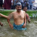 modi ji causing rain and gurugram water logging to drown me! : Kejri https://t.co/8lC8JvLw3D