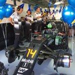 Celebrations and balloons in the garage for birthday boy, Fernando. #HappyBirthdayFernando🎈🎈 https://t.co/doMPNFSP7z
