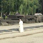 Pope Francis at Birkenau https://t.co/WWuaZmhpB7