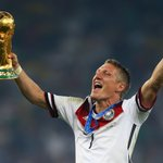 Bastian Schweinsteiger has played his last game for 🇩🇪 Games: 120 ⚽: 24 World Cup 🏆: 2014 EURO 🥈: 2008 Danke, Basti! https://t.co/nXmjxk2Nby