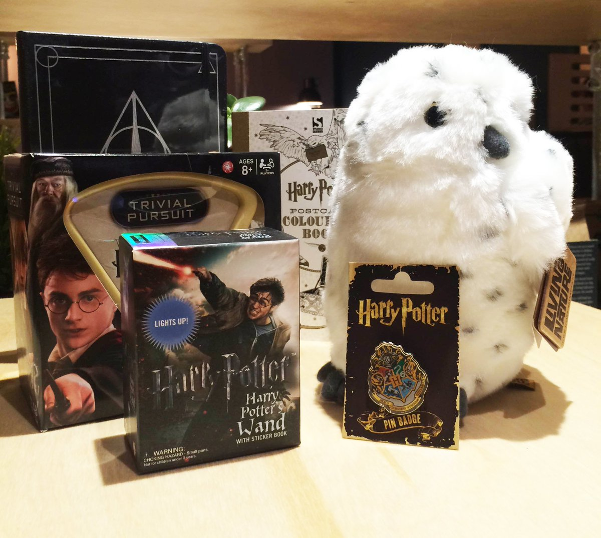 Retweet to #WIN these #HarryPotter goodies AND a copy of #CursedChild thanks to @waterstonesWQ. Closes 12pm 1/8/16 https://t.co/MrRzOBNxOu