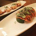 Chicken Taquitos & Nori Spiced Poke Tuna Wanton    @stantonsocial @NYCRW #ChasingFlavor #NYC #NYCRestaurantWeek https://t.co/lvZljx3N8k