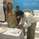 Con firma convenio con @traslaperla se beneficiarán en @unimagdalena jóvenes de ciudad, abriendo oportunidades https://t.co/lFIqekrX14