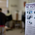 Appeals court strikes down NC voter ID law as discriminatory. https://t.co/CjfJ9kdPMc #ncpol #avlnews #Election2016 https://t.co/fbDBIZlmh5