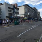 Theyre playing #basketball on Wyoming Ave. in #Scranton for the Lackawanna County 3 on 3 Basketball Tournament. https://t.co/TxAISY5DXU