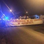 Residentes en Campo Lindbergh realizan marcha en contra de la colocación de jerseys en su sector https://t.co/53BYyAXs4C