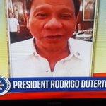 Pati c Pres. Duterte oh 👊👊👊 Thank u for d gretings tatay Digong 😉😘😘😘 #EBisLove @lotte0608 @jhyramos16 @aseypornea15 https://t.co/LG2laDngsX