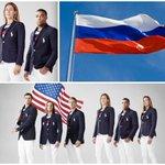 Олимпийцы США желают перейти в сборную России в знак протеста против МОК. И уже оделись в цвета нашего флага! https://t.co/vdFgNpn1Nd