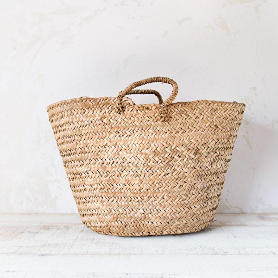 En las compras de la semana prendas accesorios y - Cestos de palma ...