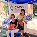Huge thank you to everyone at @sunfestyyc that came by the @cawst booth to take a 💩 pic with us today! #MakeAStink https://t.co/1wM47qKNTs
