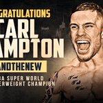 AND THE NEW WBA SUPER WORLD FEATHERWEIGHT CHAMPION IS FROM NORTHERN IRELAND 👌🏼 @RealCFrampton #FramptonSantaCruz 👊🏼 https://t.co/cgfBWY75tS