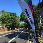 Our #RideLondon cheerpoint is ready for our cyclists on Wimbledon Hill! @RideLondon https://t.co/ZV0PELyi0G