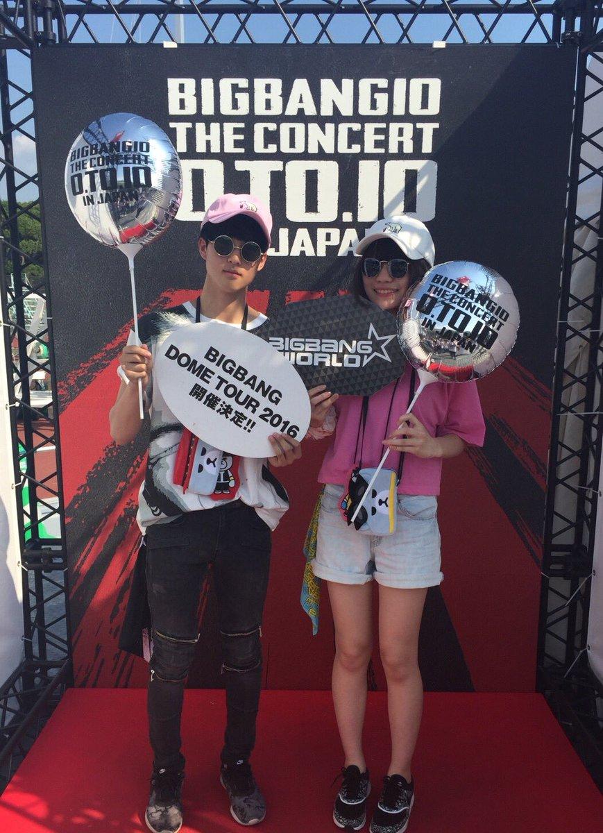 【#BIGBANG】スタジアムライブ3days終了!ご来場いただきました皆様、炎天下の中有難うござい…