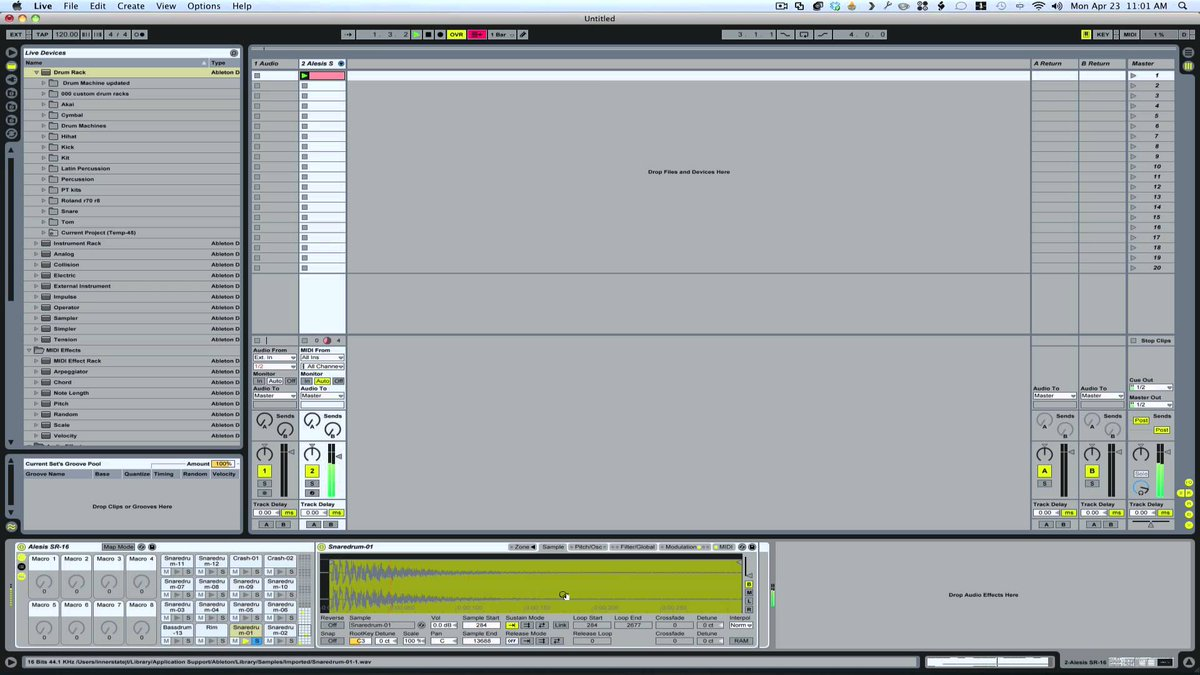 Ableton Tutorial: Humanize programmed drums | Ableton Tutorial | Making Drums - https://t.co/sIPCYcftwe https://t.co/c8cdrxiQRU