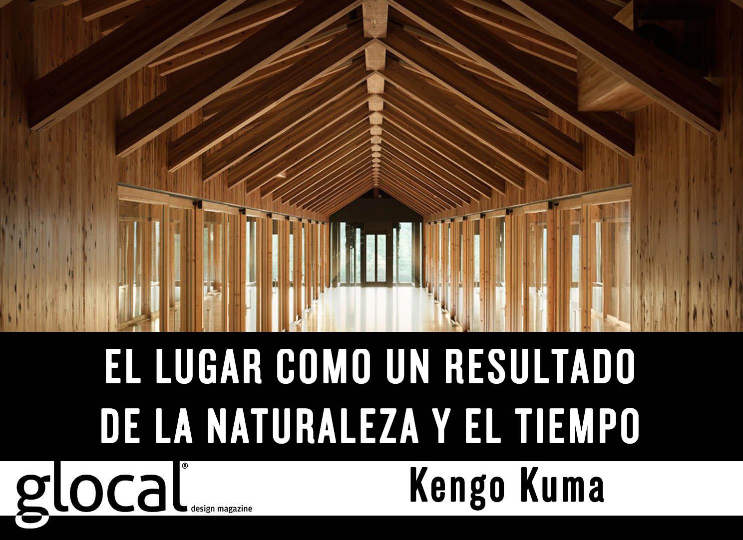 #GlocalQuote de @kengokuma arquitecto contemporáneo, autor de Wind Eaves en disponible en Glocal 32 en Issuu https://t.co/vjToMq0KL3
