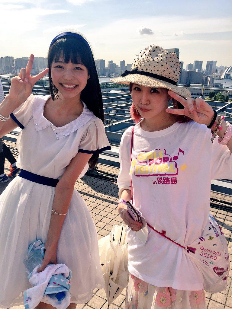 SKY STAGEで大森さんに会えたヾ(゚ω゚)ノ ふへへへへへへへ(*´ω`*)♡ #TIF201…
