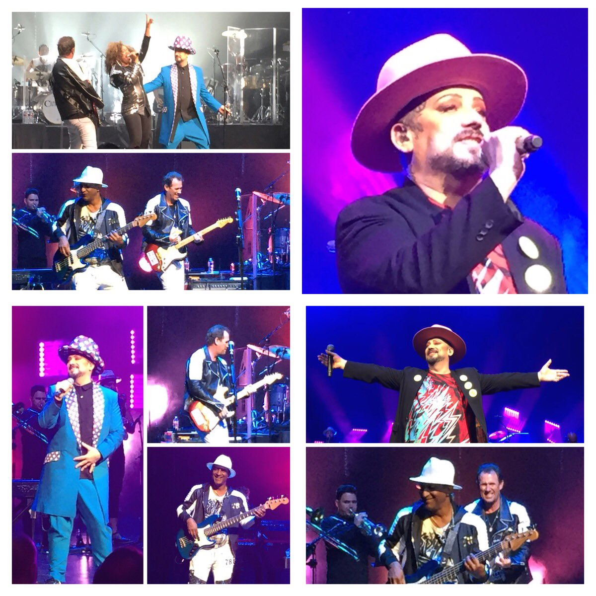 In the Church Of The Poison Mind #CultureClub @VerizonTheatre https://t.co/NxzT1LEpMk
