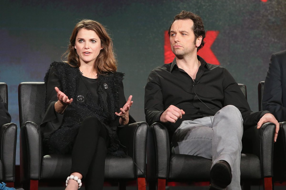 Real Life Couple Keri Russell Matthew Rhys On The Graphic Sex Scenes In Theamericansfx