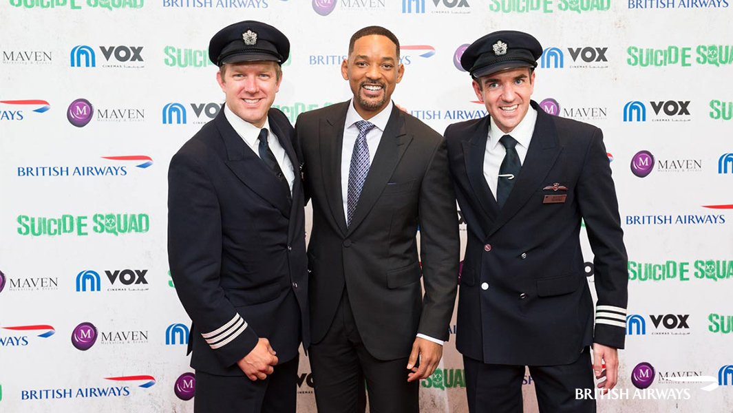 Will Smith talks travel & movies with our pilots: