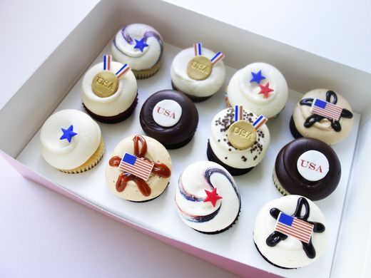 Where to eat, drink and watch the Olympics (Photo: Georgetown Cupcakes)