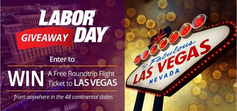 Enter to win a FREE round trip ticket to Las Vegas for a Labor Day weekend! https://t.co/fx00OzRlJZ https://t.co/p9T3rfvh64