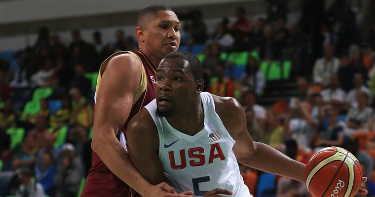 U.S. men's basketball team crushes Venezuela via @NBCOlympics