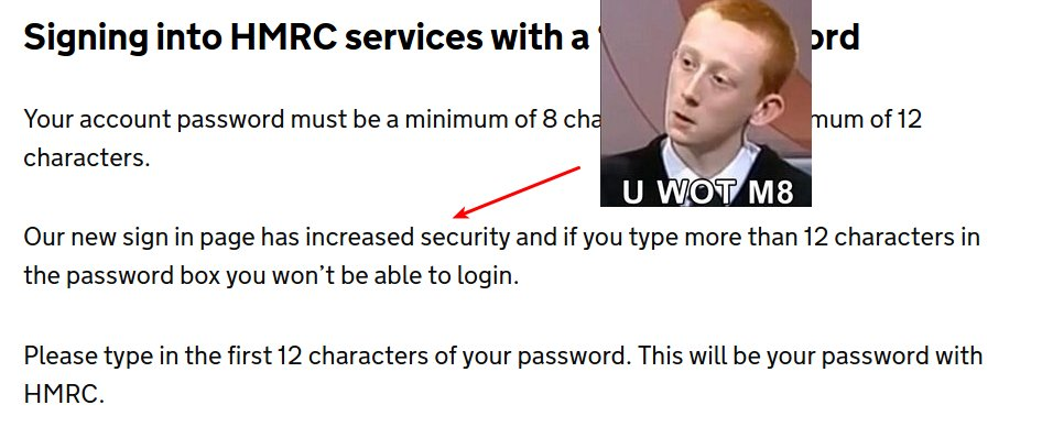 Hey @HMRCgovuk maybe you should talk to @CESG_HMG about this: https://t.co/9AxmjzWj1M https://t.co/uaXAMujfwv