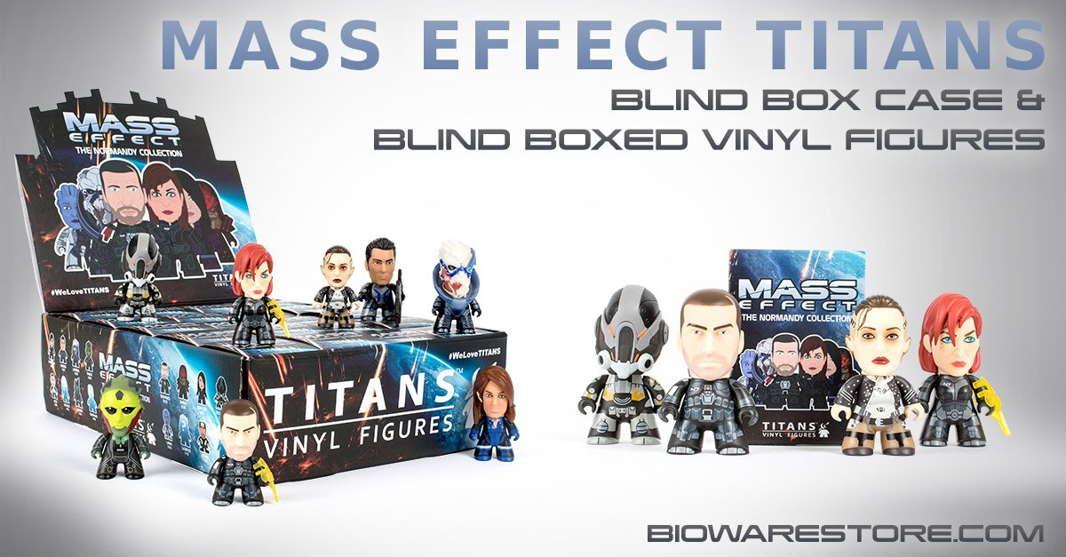 Mass Effect Vas Normandy Collection vinyl Titans are now available in the BioWare Store! https://t.co/3a0KWJWR5T https://t.co/ajnhji1gr5