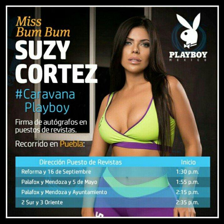 RT @AW_Espectaculos: Habrá #CaravanaPlayboy en #Puebla con @SuCortezOficial y @jessyjensen de revista @PlayboyMX edición Agosto 2016!!! htt…