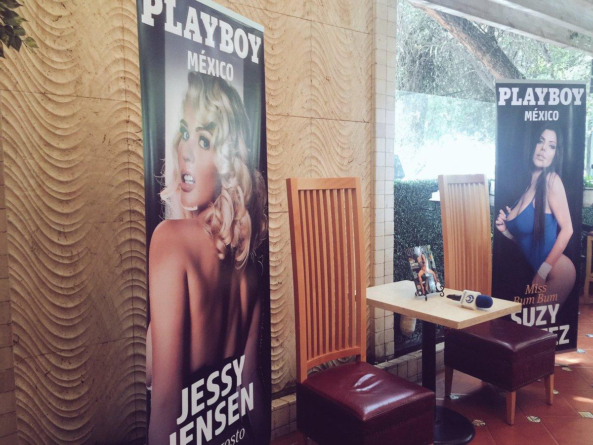 RT @PlayboyMX: A minutos de comenzar la Conferencia de Prensa con @SuCortezOficial y @jessyjensen en @RustickitchenMX https://t.co/Obwe4hfE…