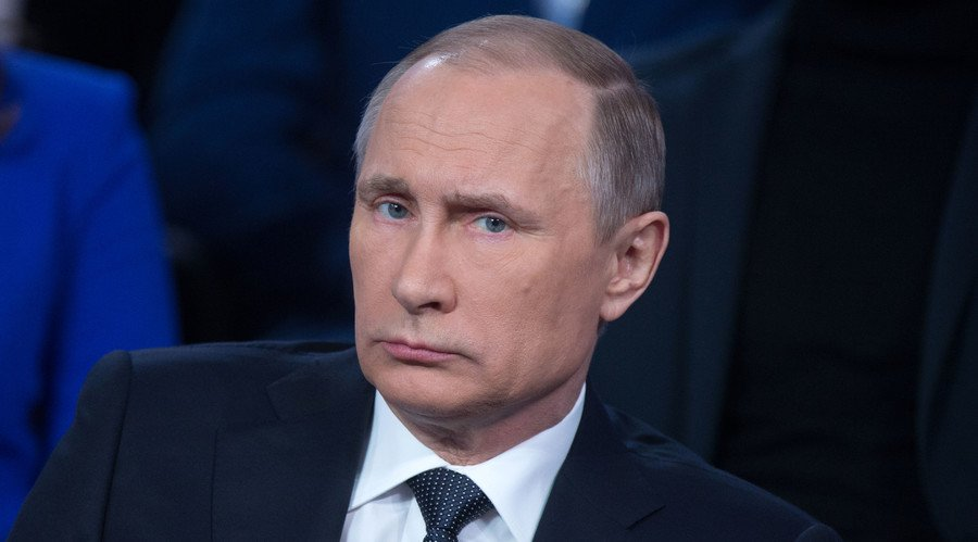 'Kiev has turned to terrorism': Putin on foiled sabotage plot in Crimea