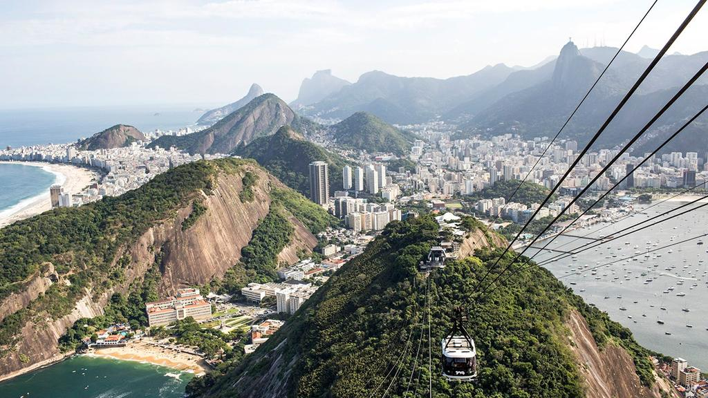 Take 3 days in Rio and let it take your breath away.