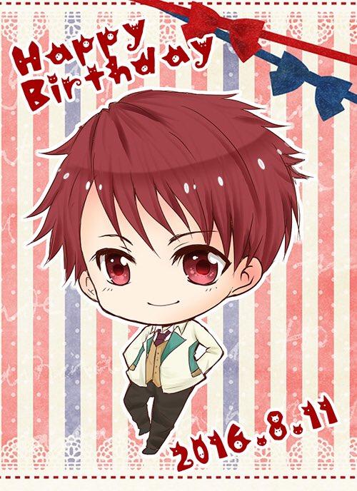 Happy Birthday!*\(^o^)/*出遅れた野暮助だけど、天花寺君のツンデレ大好きだよー💕今日はお祝いしたい