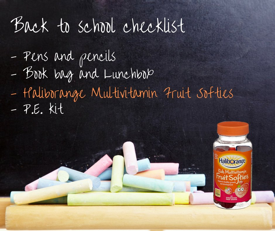Get organised for back to school season with @haliborangeUK Multivitamin Softies! https://t.co/WZymIXMugV https://t.co/3bQTEw0qYg