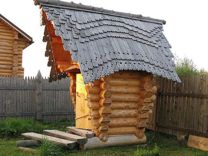 Деревянные туалеты своими руками фото