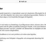 Redan 2009 i vår Rosengårdsrapport rekommenderade vi ändring av EBO-lagstiftning och trångboddhet @svtagenda https://t.co/7p1QeJAdmh