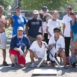 PHOTOS: Homeless Baseball League #HamOnt https://t.co/G7HfPFrM96 https://t.co/SA36NfUIPk