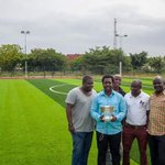 @ASAMOAH_GYAN3 built this pitch for Accra Academy... Great 👍🏻  #ffhypeteam https://t.co/xVV9XmQ27F