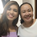 LATE POST Thank you for being ever so accommodating! Miss you,Meng! See you soon!😊 @mainedcm #ALDUBLOLASinConcert https://t.co/dwjWRKA7Pg