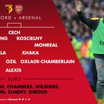 ⏰ Right, its an hour before kick-off... and that means its time for team news  #WFCvAFC https://t.co/hPBTXst8gt